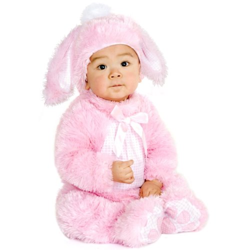 Charades Plush Costume - Little Pink Bunny - 6-18 months