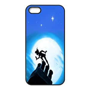 [Peter Pan Series] Case For Iphone 6 4.7 Inch Cover Cases Second Star to the Right and Straight on Til Morning Peter Pan, Case For Iphone 6 4.7 Inch Cover Teen Girls Cheap Stevebrown5v - Black