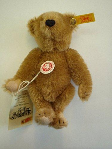 (Steiff Historic Miniature Replica Collection 16cm Cinnamon Teddy Bear 029073)