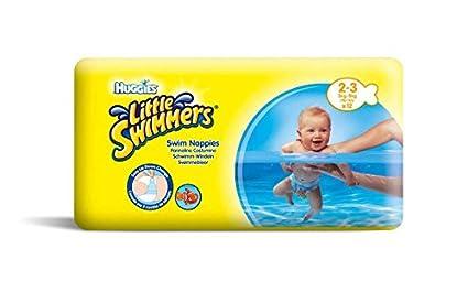 36 pañales de natación desechables de Huggies Little Swimmers para pañales pequeños, 3 – 8