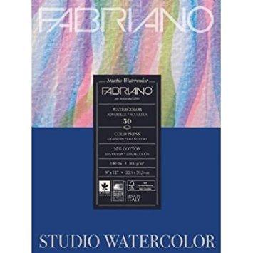 Savoir Faire Fabriano Studio WC Pad 9X12 CP 300G 50 Shts,White by Savoir Faire