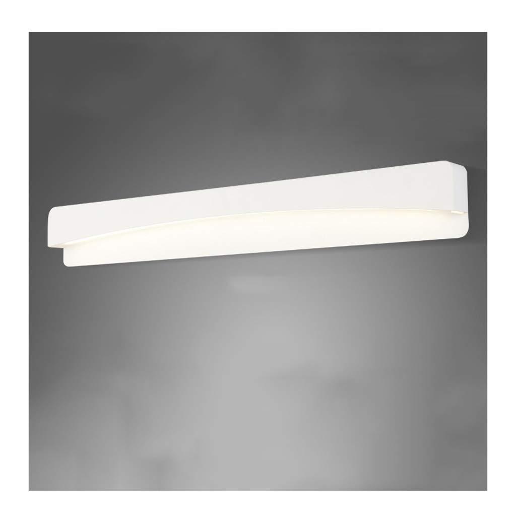 &Badezimmerbeleuchtung LED-Spiegel Scheinwerfer, Anti-Bad Lampe Make-up Lampe wasserdicht Anti-Fog-Frisierkommode Spiegel Lampe Licht (Farbe   Positive Weiß light-62cm-14W)