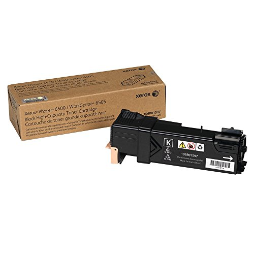 Xerox Phaser 6500 Black OEM Toner High Yield (3,000 Yield)