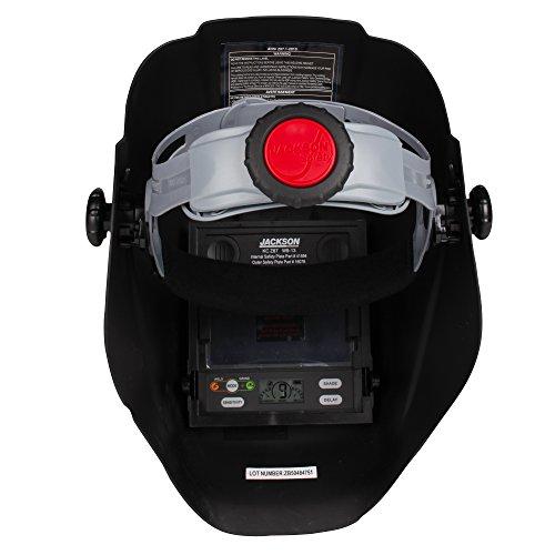 Jackson Safety 46131 Insight Variable Auto Darkening Welding Helmet, HaloX ,Black by Jackson Safety (Image #4)