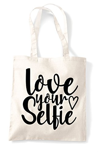 Natural Selfie Your Shopper Bag Love Tote Statement Pg5d5zn