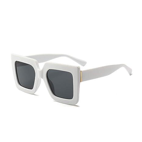 Yangjing-hl Gafas de Sol cuadradas Retro Gafas de Sol ...