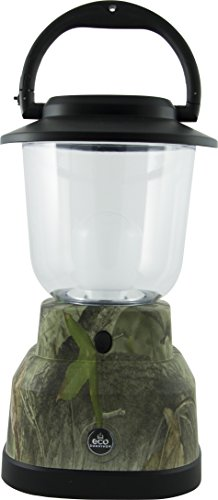 EcoSurvivor Portable LED Lantern, Green Camouflage Finish, Bright White 500 Lumens, Durable, Rugged, Dust/Water Resistant, Ideal for Outdoors, Camping, Hurricane, Storm, Tornado, Emergency, 39881 ()