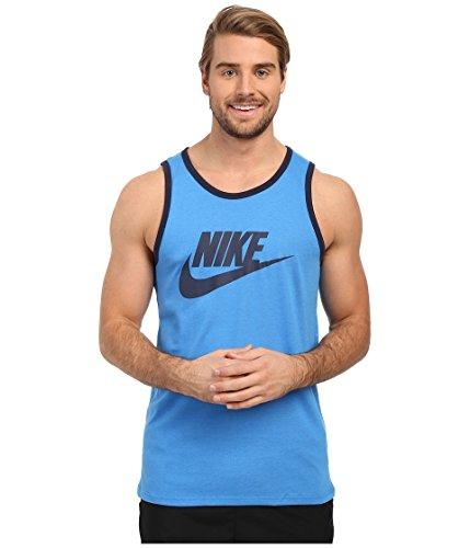 Nike Mens Ace Logo Linne Blå