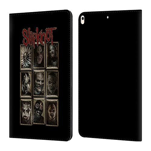 Official Slipknot Masks Key Art Leather Book Wallet Case Cover Compatible for iPad Air (2019)]()