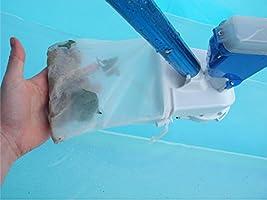 Limpiafondos manual para piscinas con batería litio recargable Poolwonder v2-2018 aspirador para piscinas