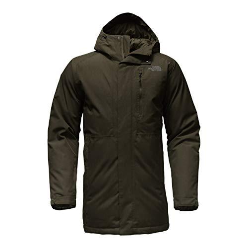 - The North Face Mount Elbert Parka Rosin Green Heather Men's Coat (LG)
