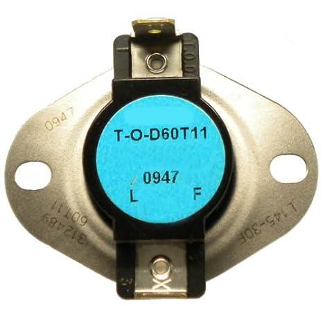 Coleman 02535381000 Furnace Temperature Limit Switch Genuine Original Equipment Manufacturer Part OEM
