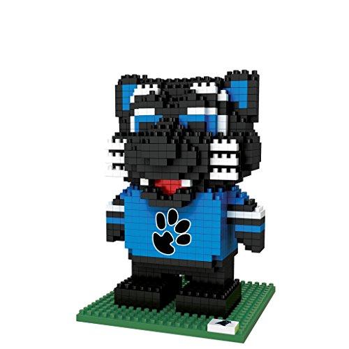 FOCO NFL Carolina Panthers BRXLZ 3D Blocks Set - Mascot, Team Color, One Size -
