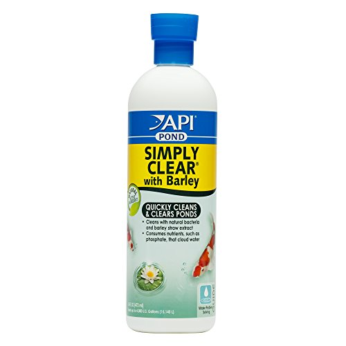 (API POND SIMPLY CLEAR Pond Water Clarifier 16-Ounce Bottle)