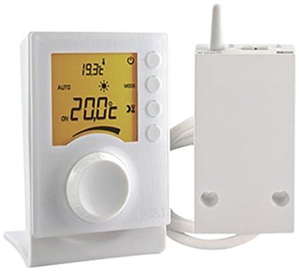Delta Dore TYBOX 33 6053002 - Termostato de ambiente con selector vía Radio