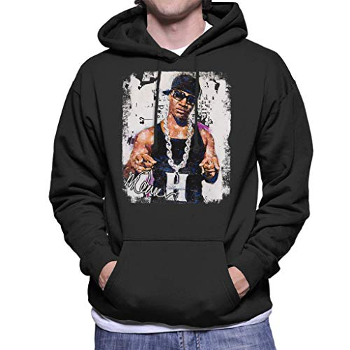 Sidney Maurer Original Portrait of Young Jeezy Hustle Chain Men's Hooded Sweatshirt