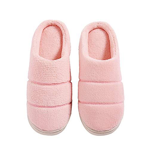 Di 39 Coppie Autunno Cotone Pink Antiscivolo Uomini Hong Jia Donne 40 Spesso Fondo Inverno Casa E Pantofole 38 Calda brown Peluche Con 41 Coperta RqqYwxI