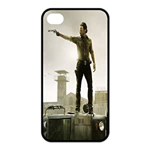 The Walking Dead Rick Grimes iPhone 4/4s Case Durable iPhone 4/4s Black Fitted Case