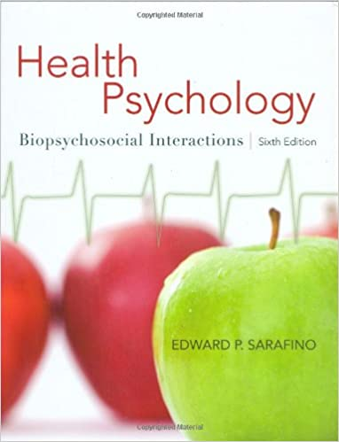Health Psychology Biopsychosocial Interactions Pdf