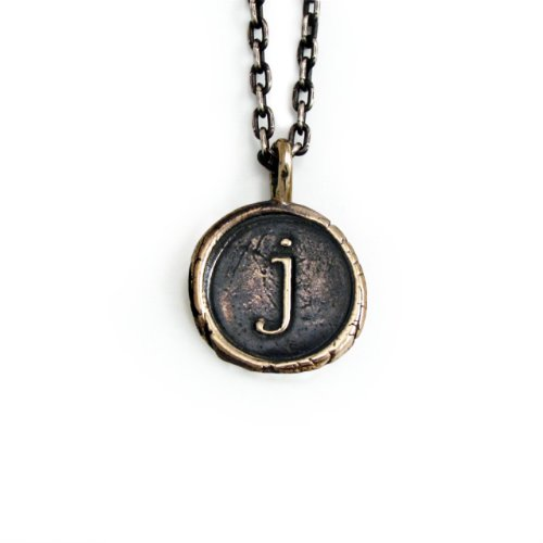 Pennyroyal-Studio-Bronze-Initial-Pendant-Necklace-Letter-J