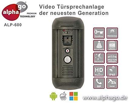 SIP IP LAN Videoportero alp600 – 8 GB MEMORIA – Sensor de movimiento con marcador Rango