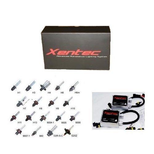 (XENTEC 55W Standard Size Ballasts x 2 bundle with 2 x Xenon Bulb 9007/9004/HB5 6000K (Ultra White) single beam offroad)