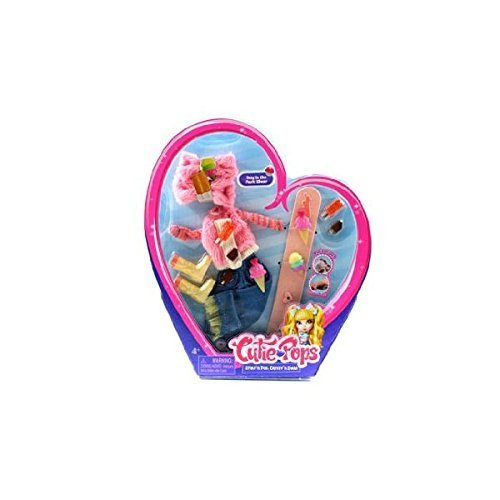 Cutie Pops Dolls Fashion Accessory Pack - Day in the Park Wear ()