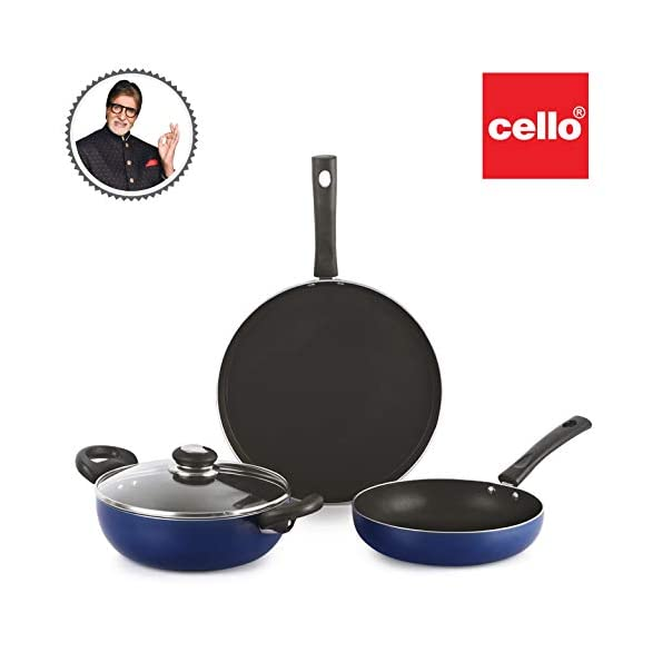 Cello-Prima-Induction-Base-Non-Stick-Aluminium-Cookware-Set-3-Pieces-Blue-Large-CLOPRMANSTCK3PCBlue
