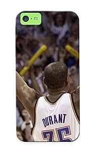 Stylishgojkqt High-quality Durability Case For Iphone 5c(oklahoma City Thunder Basketball Nba Ej )