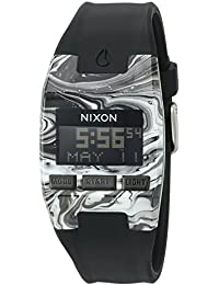 Nixon Men's 'Comp S' Plastic and Silicone Automatic Watch, Color:Black (Model: A3362193-00)