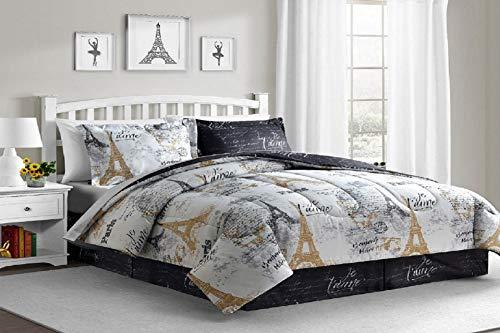 Fairfield Square Collection Paris Gold 8-Pc King Size. Reversible Comforter Sets (Comforter Fairfield Sets)