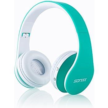 Amazon.com: Sonixx BTX1 Kids Bluetooth Headphones (Aqua