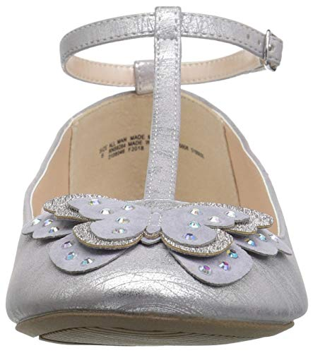 The Children's Place Girls' T-Strap Ballet Flats, Light Lavender, Youth 3 Child US Little Kid by The Children's Place (Image #4)