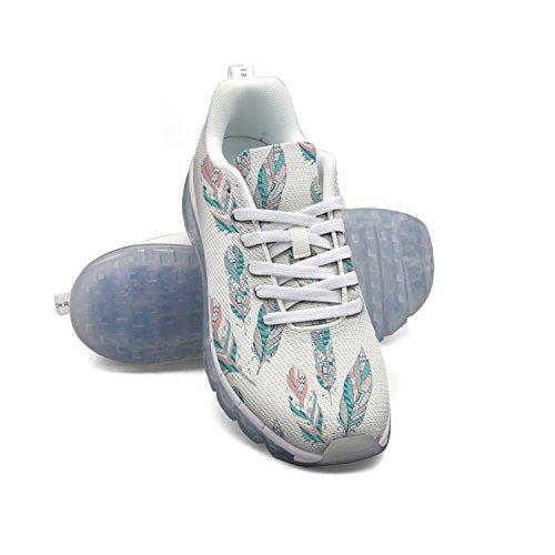 Faaerd Fantastiske Fjer Mænds Mode Letvægts Mesh Luft Pude Sneakers Basketball Sneakers UvZ4HVRp
