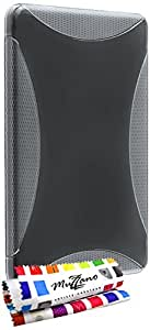 """Carcasa Flexible Ultra-Slim AMAZON KINDLE FIRE [""""Le X"""" Premium] [Transparente] de MUZZANO + ESTILETE y PAÑO MUZZANO REGALADOS - La Protección Antigolpes ULTIMA, ELEGANTE Y DURADERA para su AMAZON KINDLE FIRE"""