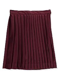 Cookie's Brand Big Girls' Plus Size Pleated Skirt - Burgundy, 14.5
