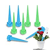 Plant Watering Stakes, Automatic Watering System, Plant Self Drip Irrigation Slow Release for Indoor or Outdoor Houseplants, Perfect for Vacation Plant Watering (8, Plastic 1)