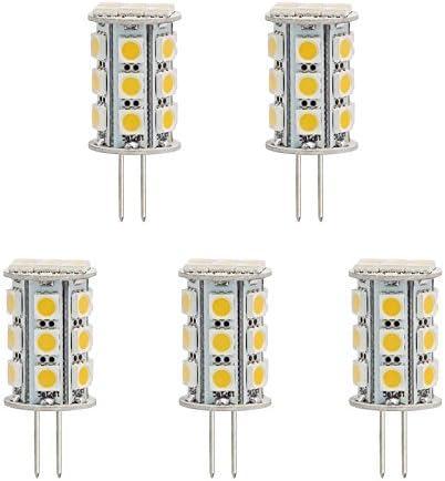 3.5w LED Light bulb Warm 3000k NEW 6 JC G4 bipin SMD 12V 12-18v Landscape  3w