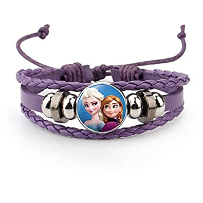 Tv & Movie Character Toys Frozen Elsa And Anna Charm Bracelet Adjustable 2 To 4 Year Gift Box Birthday