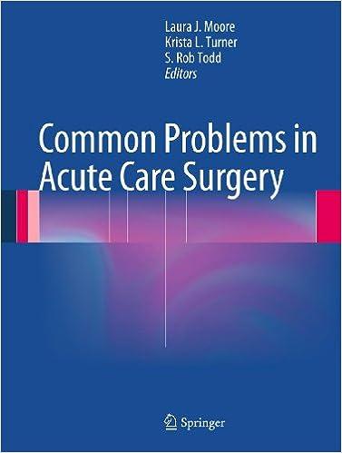 Amazon com: Common Problems in Acute Care Surgery eBook: Laura J