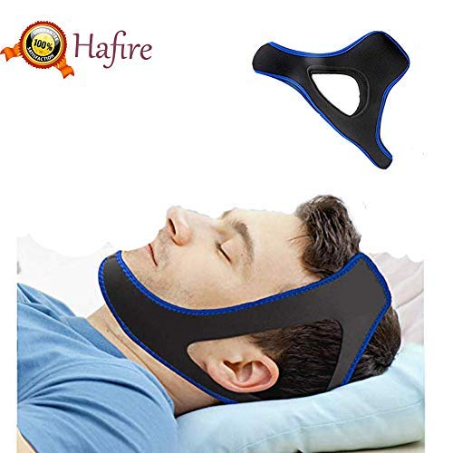 Anti Snoring Chin Strap Cpap, Adjustable Stop Snoring Chin Straps Anti Snoring Devices Snoring Solution for Men Women Effective Snoring Apnea Thin Breathable for Sleep Aid