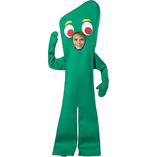 Rasta Imposta Gumby Open-Face Kids Costume - 7-10 Green]()