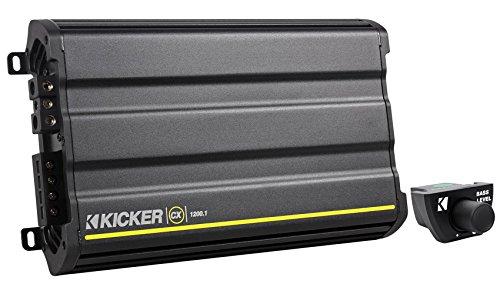Package: Kicker CX1200.1 2400 Watt Peak/1200 Watt RMS Mono Block Class D Car Amplifier + Kicker 43CXARC Remote Control For CX or PX SERIES Car (Series Cool Duals Filter)