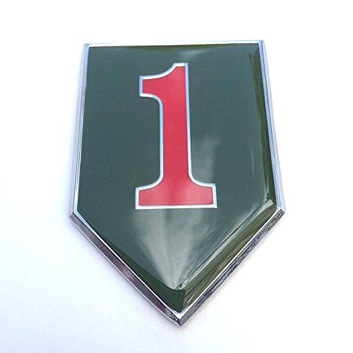 1st Infantry Division Sticker Decal Emblem for Car Truck SUV Metal US Army