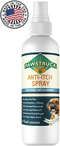 Pawstruck Anti-Itch Spray for Dogs + Cats, Aloe - 8 oz - Cat