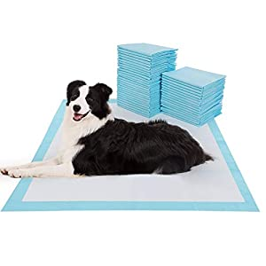 "BESTLE Extra Large Pet Training and Puppy Pads Pee Pads for Dogs 28""x34"" -40 Count Super Absorbent & Leak-Free 14"