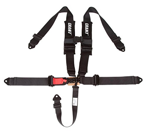 Grant 2115 5-Point Off-Road Harness, 3 x 3 Latch and Link with Pads, 1 Pack