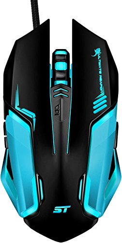 41PdpmtfHIL - Gaming-Mouse-SOWTECH-USB-Wired-Gaming-Mice-4-Adjustable-DPI-Levels-7-Circular-LED-Light-with-Ergonomic-6-Buttons-PC-Gaming-Mouse