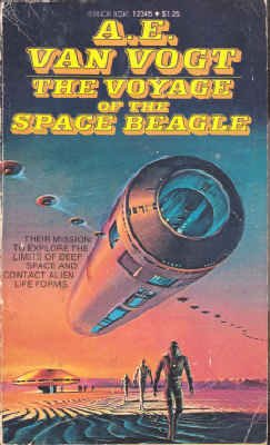 The Voyage of the Space Beagle (Manor Books #12345)