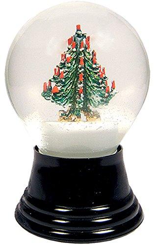 Alexander Taron Importer PR1004 Perzy Decorative Snowglobe with Christmas Tree, 5'' x 3'' x 3'' by Alexander Taron Importer
